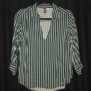 Emerald Strip Shirt